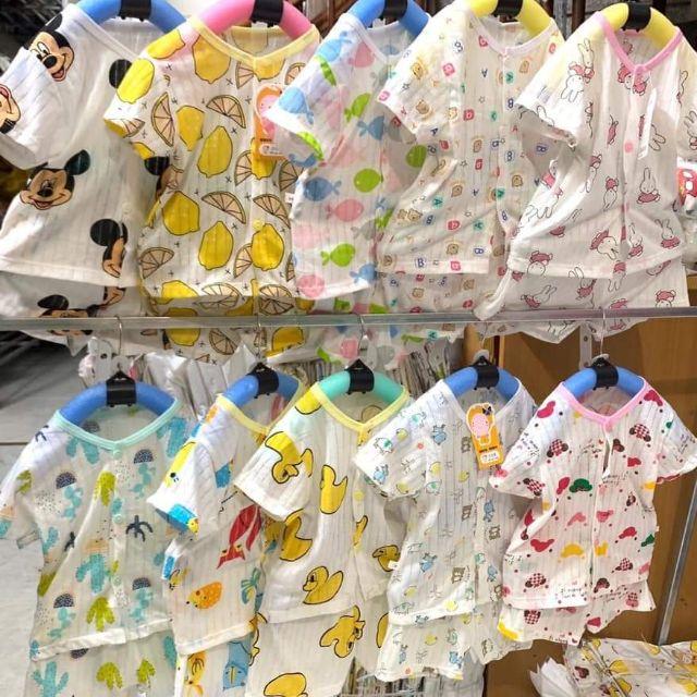Đồ bộ trẻ em -  Cotton giấy vải quảng châu