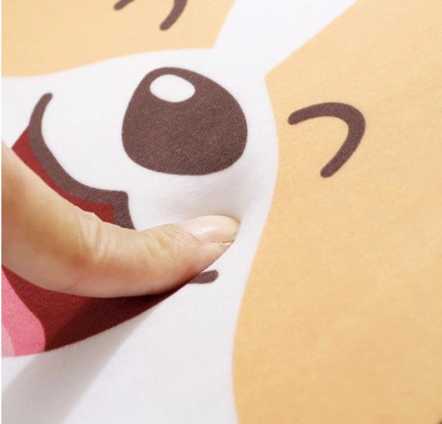 THẢM CHÙI CHÂN SIÊU THẤM HÌNH CÚN DỄ THƯƠNG 45 x 65 cm