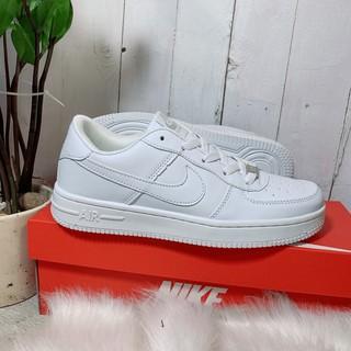 Giày sneaker trắng nam nữ af1_trắng- da đẹp hàng chuẩn - tặng hộp
