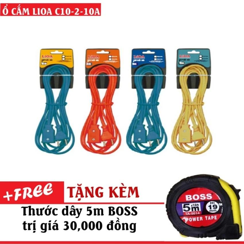 Cáp nối dài 10m 10A C10-2-10A Lioa - 10006353 , 567675373 , 322_567675373 , 190000 , Cap-noi-dai-10m-10A-C10-2-10A-Lioa-322_567675373 , shopee.vn , Cáp nối dài 10m 10A C10-2-10A Lioa