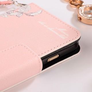 Bao da điện thoại dáng ví cầm tay khóa gài cho iPhone 5/5s/se/6/6s/6p/6sp/7/7p/8/8p/X