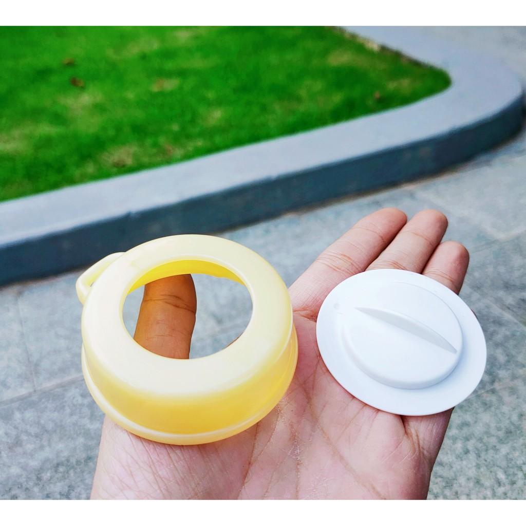 [Mã 267FMCGSALE giảm 8% đơn 500K] Bộ cổ nối và nắp đậy bình sữa cổ thường / cổ hẹp / cổ rộng nhựa an toàn