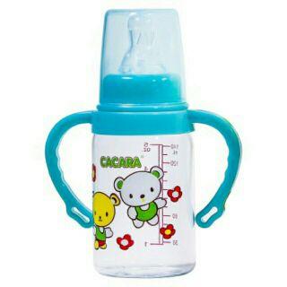 Bình sữa CACARA có tay cầm 140 ml và 250 ml thumbnail