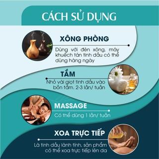 Combo 2 chai Tinh dầu Sả Chanh & Tinh dầu Bạc Hà 24Care 10ml/chai - hình 3