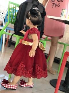 Váy công chúa  phong cach châu âu