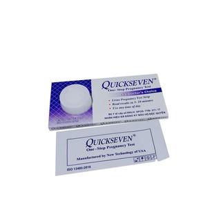 Que thử thai Quickseven phát hiện thai sớm - nhanh chóng - đơn giản - chính xác - ComBo thumbnail