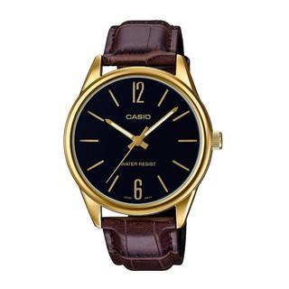 [Mã FARSBR153 giảm 15% đơn 150K] Đồng hồ nam dây da Casio MTP-V005GL-1BUDF chính hãng