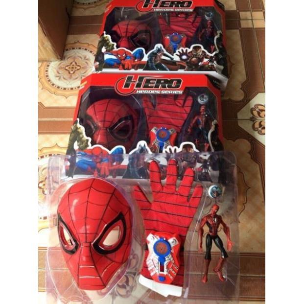 Bộ mặt nạ siêu anh hùng cao cấp tặng kèm siêu nhân nhện