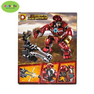 LEGO SUPPER HERO SIÊU ANH HÙNG 181000402002 – ĐỒ CHƠI TRẺ EM BABUSU