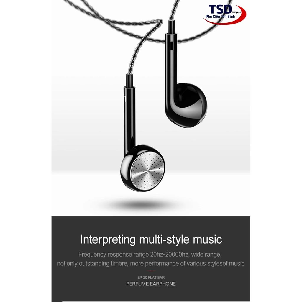 Tai Nghe USAMS EP-20 Chính Hãng - Tai Nghe Dùng Được Cho Cả iPhone & Android