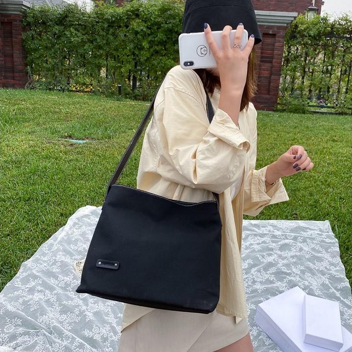 Túi vải tote nữ FREESHIP đeo chéo thời trang Hàn Quốc - Hot 2020