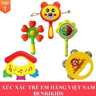 [Đồ chơi sáng tạo] (Hàng Việt Nam) Xúc Xắc Trẻ Em Antona Giúp Bé Phát Triển Thính Giác Và Khả Năng Cầm Nắm