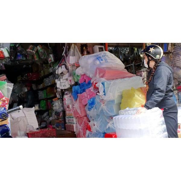 1KG TÚI ĐEN CÓ QUAI, ĐỰNG RÁC, ĐÓNG HÀNG, Túi rác, Túi rác cuộn, Túi tự hủy