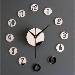 Đồng hồ số mica mẫu SỐ TRÒN A2