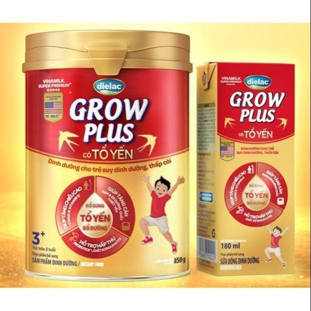 SỮA BỘT DIELAC GROW PLUS TỔ YẾN 3+850G