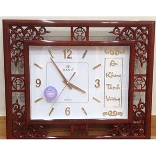 [Hàng loại 1] Đồng hồ treo tường Kashi k115 kim trôi