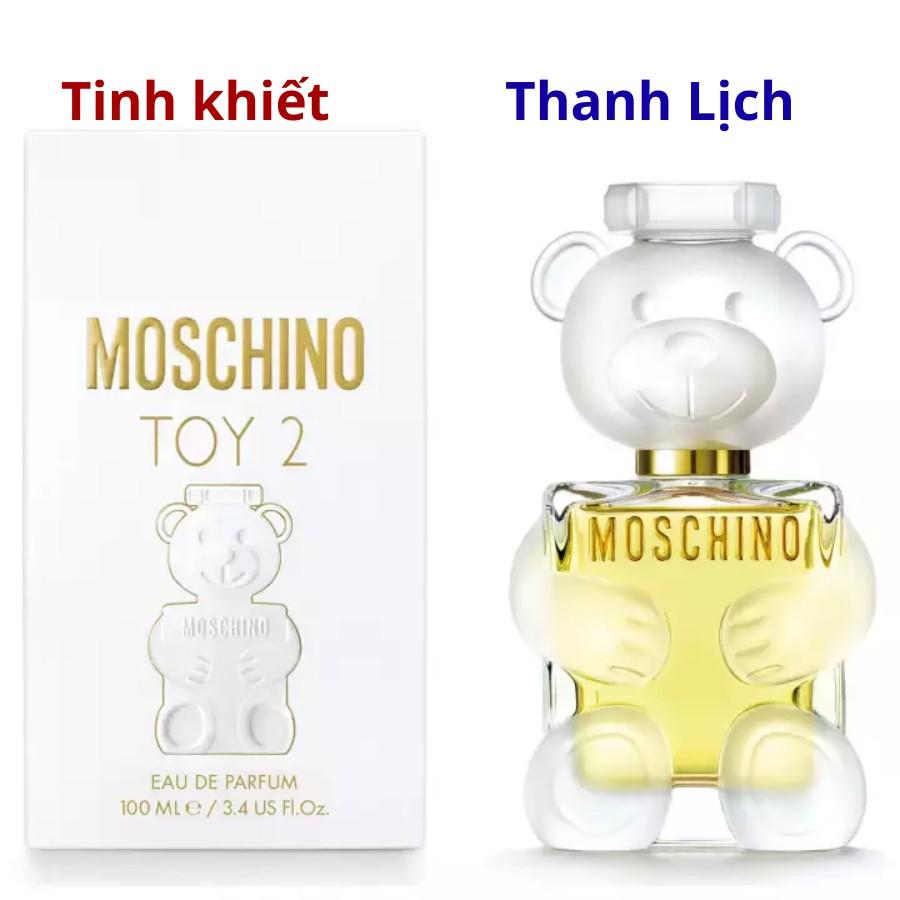 Nước Hoa Mini Moschino Gấu Toy2 - Mẫu Dùng Thử 10ml