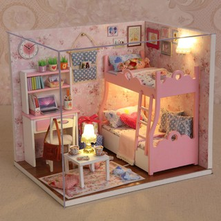 DIY Wooden Doll House Furniture Handcraft Miniature Box Kit – Blossom Age