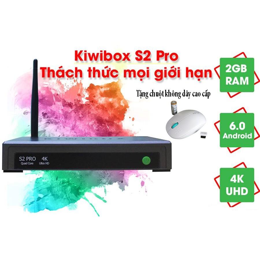 Android TV Box Kiwibox S2 Pro chính hãng tặng chuột không dây - 3511827 , 1031700405 , 322_1031700405 , 849000 , Android-TV-Box-Kiwibox-S2-Pro-chinh-hang-tang-chuot-khong-day-322_1031700405 , shopee.vn , Android TV Box Kiwibox S2 Pro chính hãng tặng chuột không dây