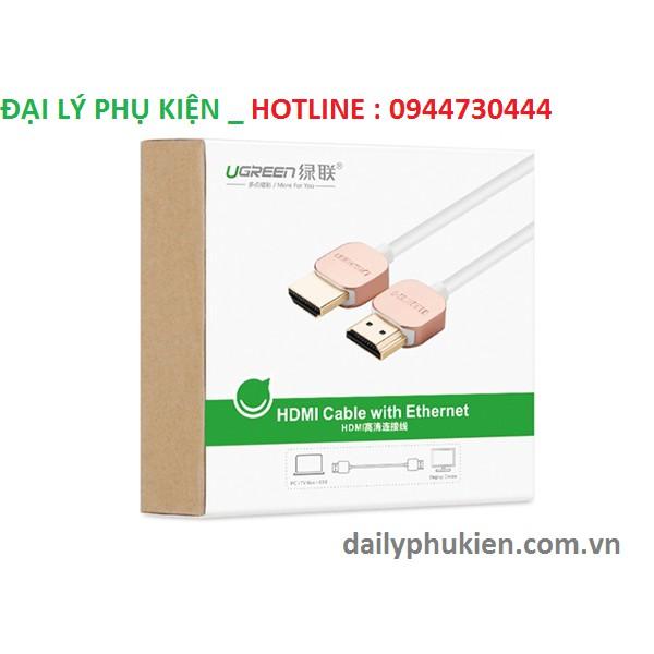 Cáp HDMI dài 1M chuẩn 2.0 Ugreen 10474