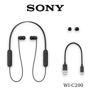 Tai nghe In-ear không dây SONY WI-C200 – Chính Hãng