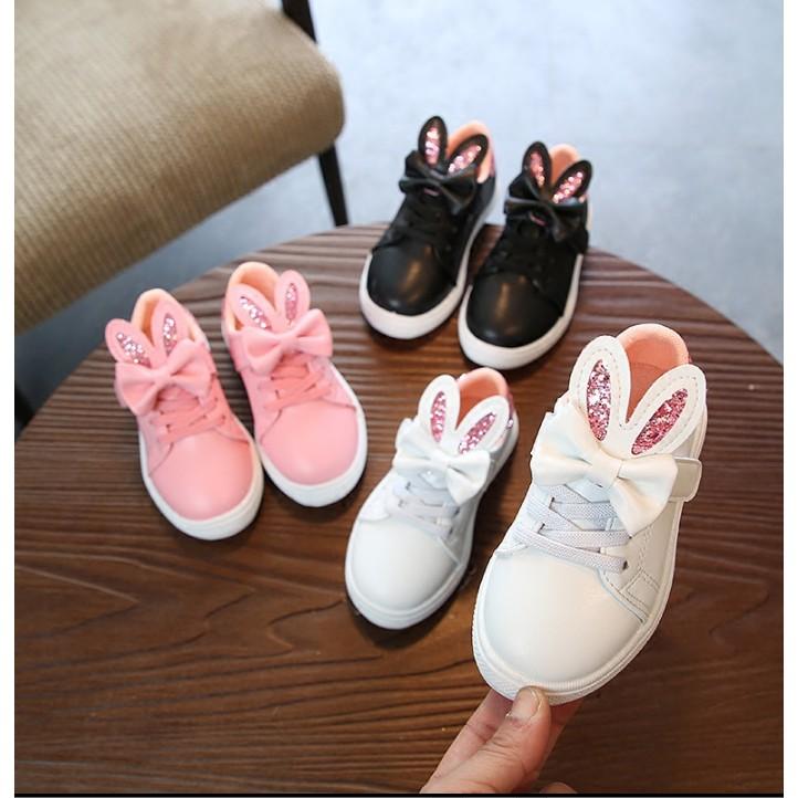 Giày thể thao cho bé đính nơ tai thỏ đáng yêu xinh xắn - 3124107 , 1005169233 , 322_1005169233 , 180000 , Giay-the-thao-cho-be-dinh-no-tai-tho-dang-yeu-xinh-xan-322_1005169233 , shopee.vn , Giày thể thao cho bé đính nơ tai thỏ đáng yêu xinh xắn