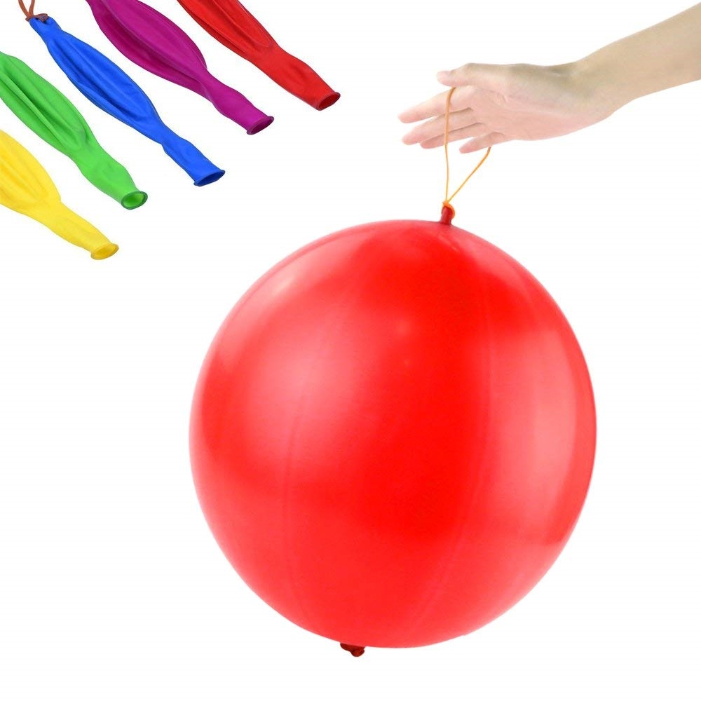 geeka-Children's Toys Punching Ball Balloons with Rubber Band Handle