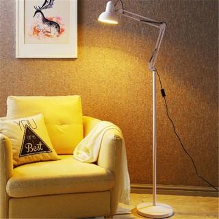 ✲℗♕Đèn sàn phòng khách hiện đại tối giản kiểu Bắc Âu gấp ngủ bảo vệ mắt bàn đứng LED điều khiển từ xa có thể chỉn