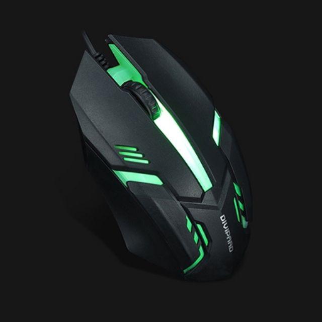 Chuột LED 7 Màu Mouse Gaming Chơi Game, Dùng Văn Phòng Cực Tốt [màu ngẫu nhiên]