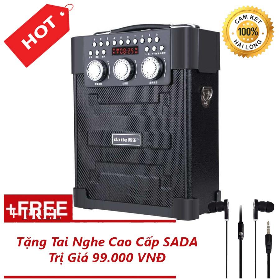 Loa kéo đa năng Bluetooth hát karaoke Daile S9 + Tặng Tai Nghe Nhét Tai Cao Cấp - 3373189 , 1258460457 , 322_1258460457 , 950000 , Loa-keo-da-nang-Bluetooth-hat-karaoke-Daile-S9-Tang-Tai-Nghe-Nhet-Tai-Cao-Cap-322_1258460457 , shopee.vn , Loa kéo đa năng Bluetooth hát karaoke Daile S9 + Tặng Tai Nghe Nhét Tai Cao Cấp