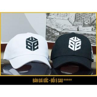 Mũ nón lưỡi trai SWE (đen và trắng) – săn nón đẹp