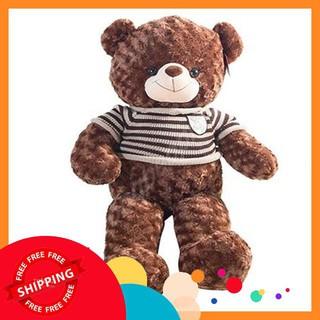 [HOT] Gấu Bông Teddy Màu Socola Khổ Vải 1m2