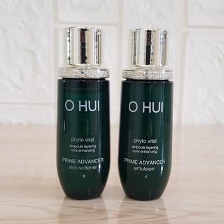 Cặp Nước Hoa Hồng Và Sữa Dưỡng Trắng, Căng Bóng Da Ohui Prime Advancer Skin Softener 20ml. thumbnail