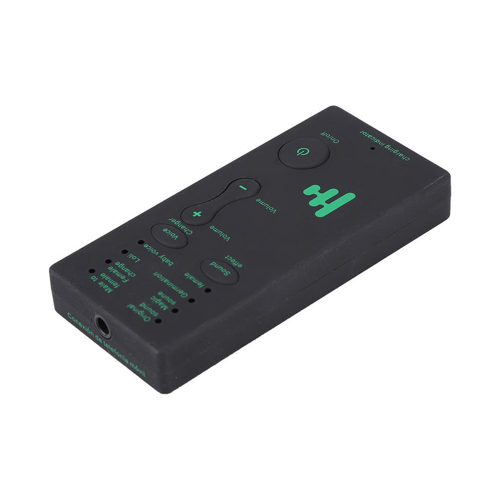 Portable Mini Voice Changer Live Broadcast Sound Card For