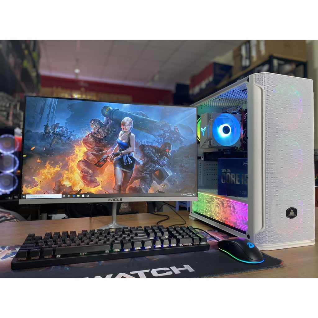 TRỌN BỘ PC GAMING I5 3570 MÀN HÌNH 24INCH CONG