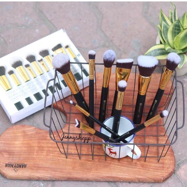 Bộ cọ tán & tạo khối BH Cosmetics Sculpt and Blend Brush set 10 cây