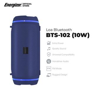 Loa Bluetooth Energizer BTS102 - Công Suất 10W - Hàng Chính Hãng, Bảo Hành 2 Năm 1 Đổi 1