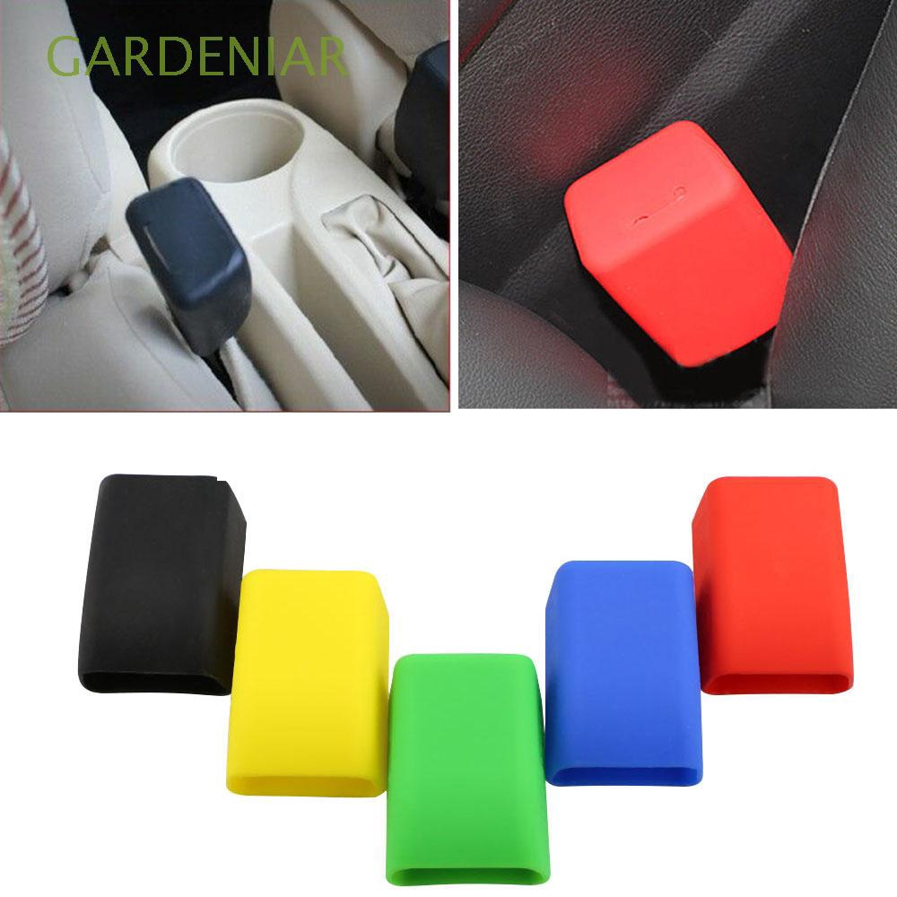Hot Smart Set Anti Scratch Silicone Universal Car Seat Belt Buckle Covers