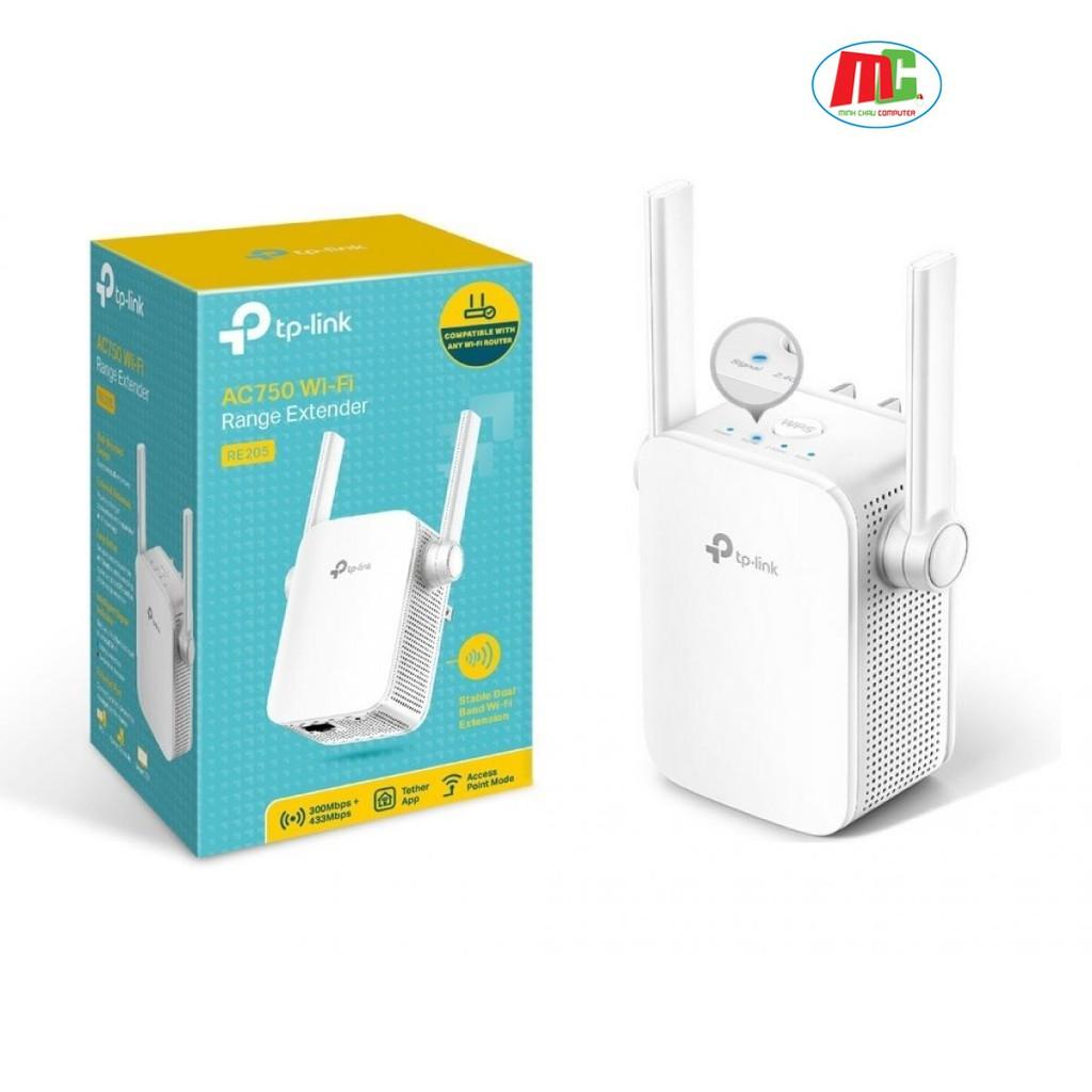 Bảng giá Bộ Mở Rộng Sóng Wifi Băng Tần Kép TP-Link RE205 AC750 - Hàng Phong Vũ