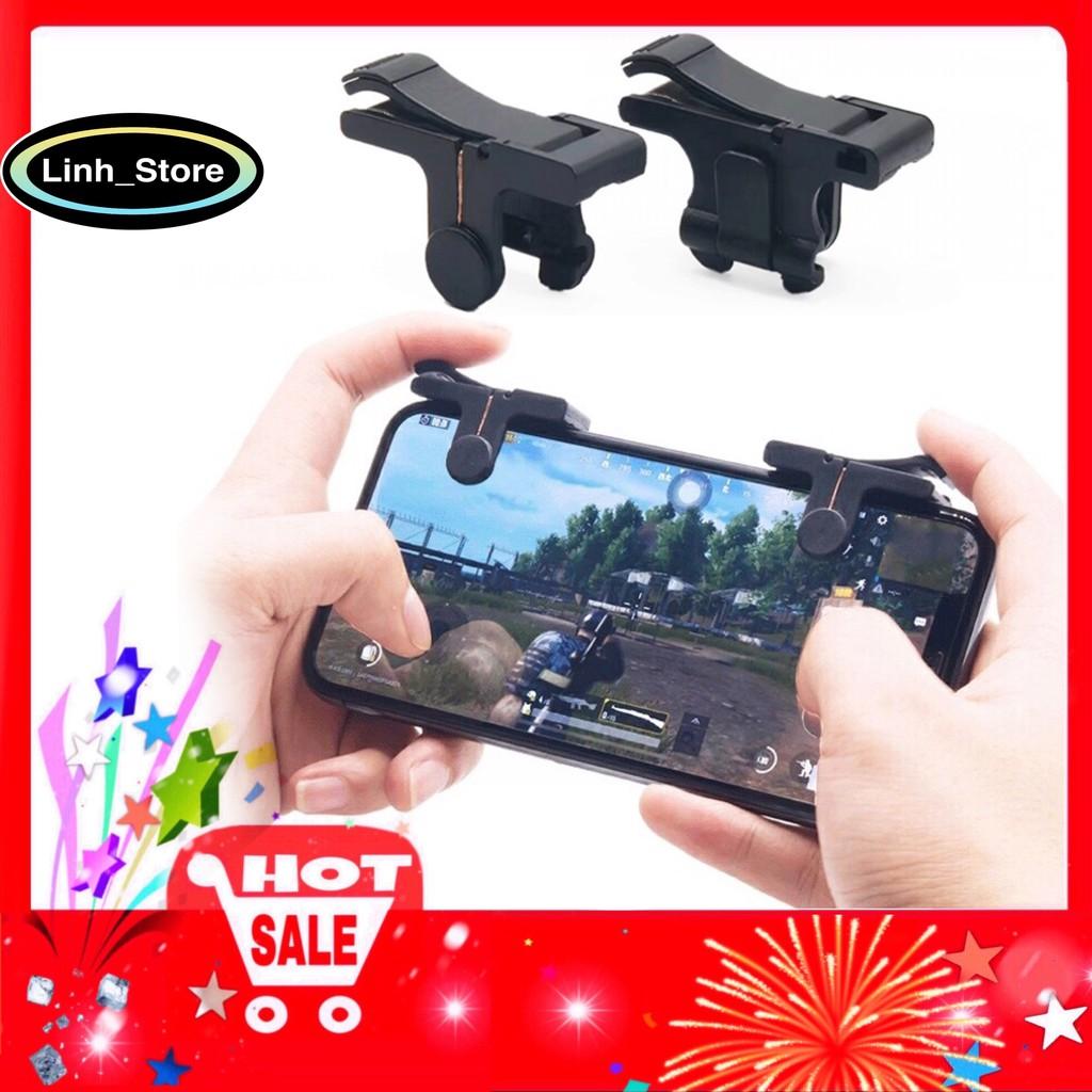 [DUY NHẤT] Bộ 2 Nút Bấm Chơi Game PUBG Dòng C9 9D Hỗ Trợ Chơi Pubg Mobile, Ros Mobile-Thế hệ Mới 2020