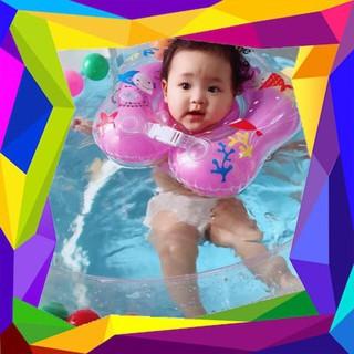 [HÀ NỘI] Bể Bơi Khung Tròn Kèm Phao Cổ Cho Bé Yêu Cỡ 80x80cm