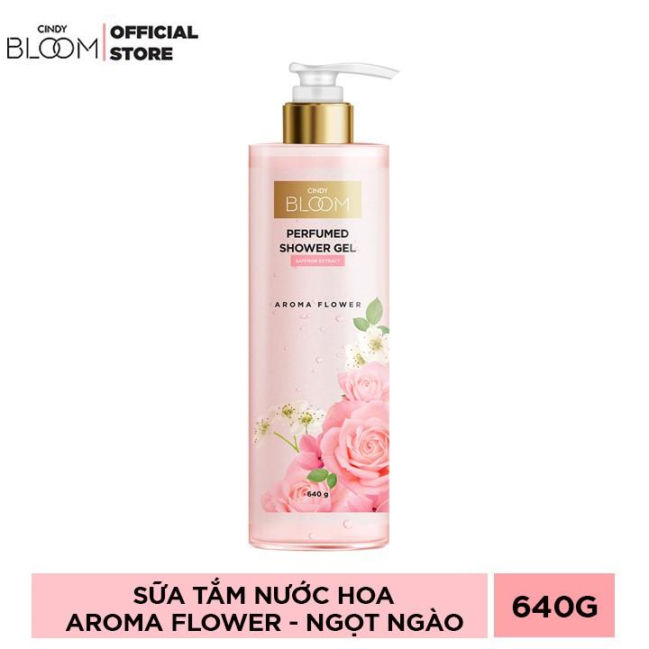 Sữa Tắm Nước Hoa Cindy Bloom Aroma Flower 640g