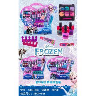 Bộ trang điểm phấn thật sơn móng tay Elsa (trang điểm và sơn móng tay được như thiệt)
