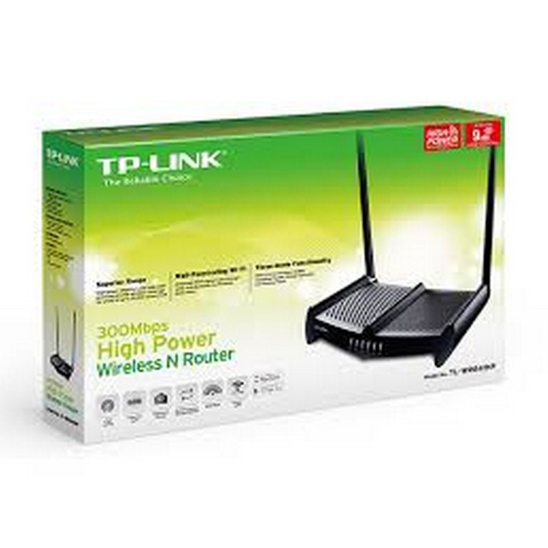 TP-Link TL-WR841HP (Anten 9dbi *2) - Router Wifi chuẩn N 300Mbps công suất cao