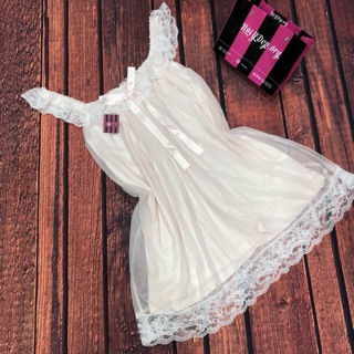 Váy tiểu thư bèo ren