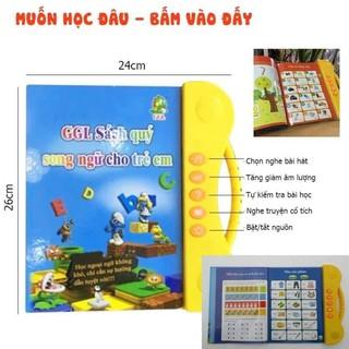 Sách Điện Tử Song Ngữ Nhiều Chủ Đề Giúp Trẻ Học Tốt Tiếng Anh ( Sách Quý Song Ngữ Có Giọng Nói, Nhạc Trẻ Em, Truyện Đọc)