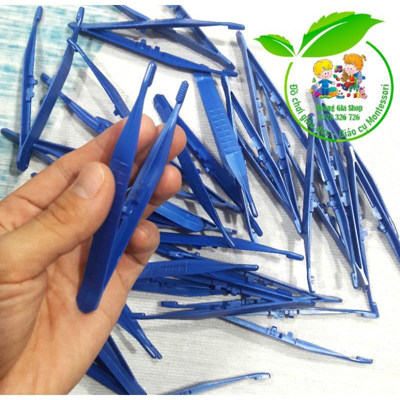 Kẹp nhựa - Nhíp nhựa tập gắp