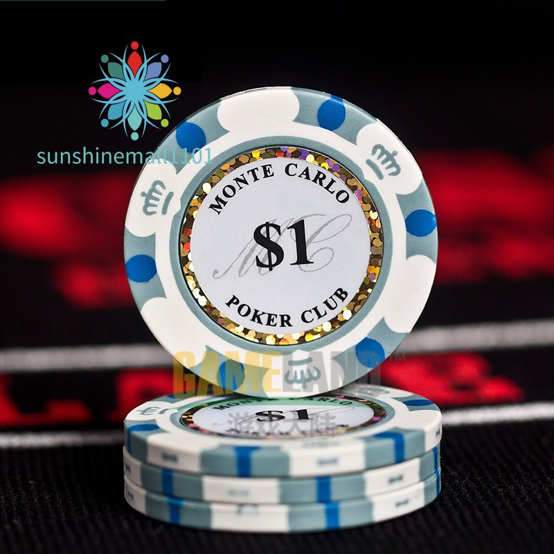 Casino Professional Casino Chip Poker Chips 14g Clay/Iron/ABS Casino Chips Texas Hold'em Poker Whole