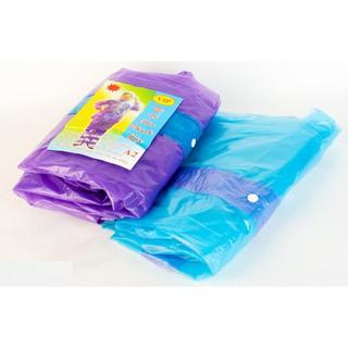 Áo mưa bộ mẫu 1 ( nilon) gồm cả quần và áo sử dụng được nhiều lần