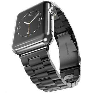 Dây đeo màu trơn sang trọng hợp thời trang cho đồng hồ Apple